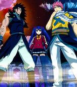 Trois Chasseurs de Dragon