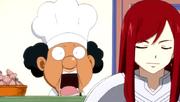 Pâtissier choqué par la commande d'Erza