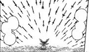 Erza invoque 199 épées