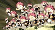 Les mini Natsu attaquent Gildarts