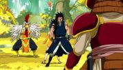 Gajil et Reby VS Kawazu et Yomazu