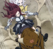 Team Mira and Erza