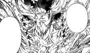Azuma vaincu se transforme en arbre