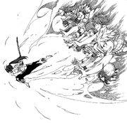 Fairy Tail soutient Erza