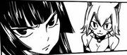 Kagura et Milliana lors de la la bataille d'arbaless