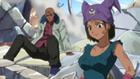 Boze et Sue admirant la force de Fairy Tail