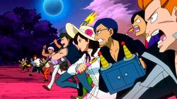 Fairy Tail d'Edolas attaque l'armée Royale