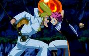 Natsu vs Sugar Boy d'Earthland