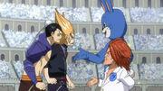 Blue pegasus vs quattro cerberos