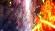 Natsu et Gajil contre Trafzer et Tempester anime