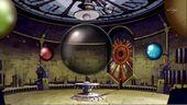 La salle des Lacrimas où se charge Jupiter