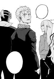 Luxus et son Unité vont sauver Ichiya