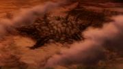 Vu d'en haut du Plutogrim détruit
