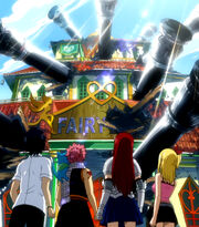 Fairy Tail attaquée par Phantom Lord