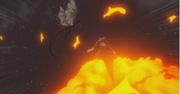 Natsu, cherchant des réponses, s'élance vers Ignir