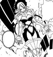 Jenny en tenue de combat