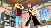 Natsu et Lucy decident de former une team