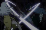 Seila tailladant Mirajane anime