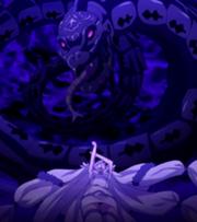 Yukino invoquant Ophiuchus
