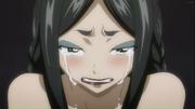 Minerva en larmes après avoir rejoind Sabertooth anime