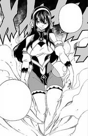 Ultia apparaît et sauve les Celestial Sisters