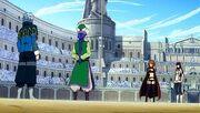 Yûka et Leon vs Kagura et Miliana