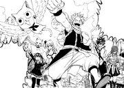 L'équipe de Natsu part à l'aventure