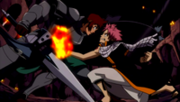 Natsu attaque Dan