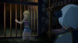Lucy et Yukino en prison