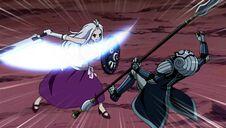 Edolas Mirajane avec son épée