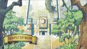 Temple de la lune île de galuna