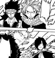 Les quatre chasseurs de dragons