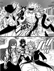 Sabertooth et fairy tail se défient