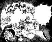 Fairy Tail utilise la brèche ouverte par Erza pour prendre d'assaut le QG de Tartaros