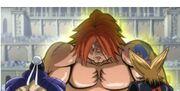 Baccus et Rocker face à Ichiya musclé
