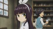 Kagura et Simon petits à Rosemarie