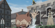Michelo fuyant anime