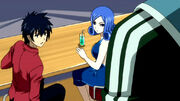 Gray et Juvia rencontrent Simon