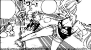 Natsu et Happy s'introduisent chez Lucy