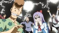 Lucky et les Mages de Fairy Tail apprennent qu'Erza est de retour