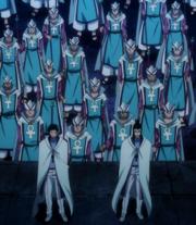 Les Chevaliers des Runes prêts à se battre