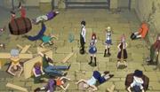 Natsu et ses amis éliminent les voleurs de Fort Term