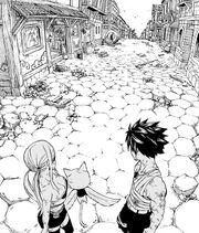 Lucy et ses amis découvrent que Natsu a disparu