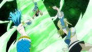 Lucy et aquarius contre sardean