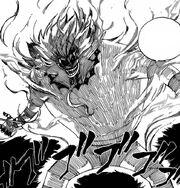 Franmars ayant absorbé l'âme du mode dragon de feu foudroyant