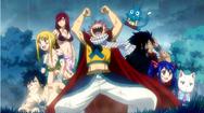 Team Natsu revient d'Edolas