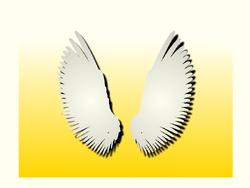 Goddess Wing Banner