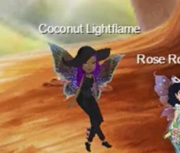 Coconut lightflame