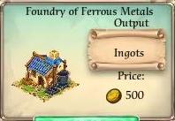 Foundry of Ferrous Metals