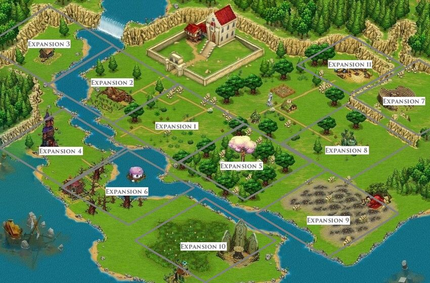 Fairy Kingdom Pano map